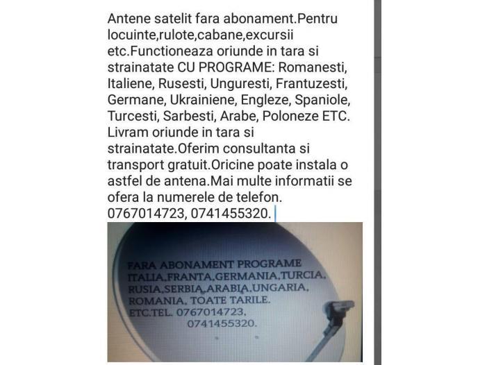 ANTENE FARA ABONAMENT-0767014723 - 1/4