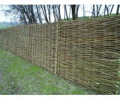 panou de gard impletit din lemn (nuiele) de alun, 180x180 cm. produs  hazelworks