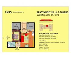 Vand apartament 2 camere, mansarda, zona Tractorul-Brasov - Poza 1/3