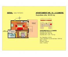 Vand apartament 2 camere, parter, zona Tractorul-Brasov - Poza 1/2