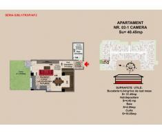 Garsoniera , Brasov, Mall Coresi, 2017, 40.45 mp