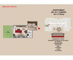 Garsoniera, Brasov, Mall Coresi, 2017, 37.0 mp