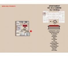 Vand  apartament 2 camere, zona Tractorul-Brasov