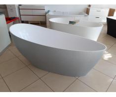 Cada baie compozit ovala freestanding mozaic - Poza 1/4