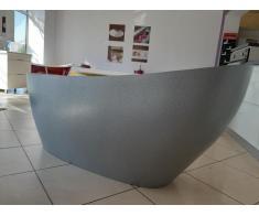 Cada baie compozit ovala freestanding mozaic - Poza 2/4