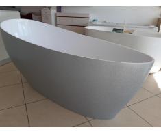 Cada baie compozit ovala freestanding mozaic - Poza 4/4
