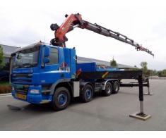 Inchiriez Camion cu Macara PK 72000, brat 28 m, capacitate