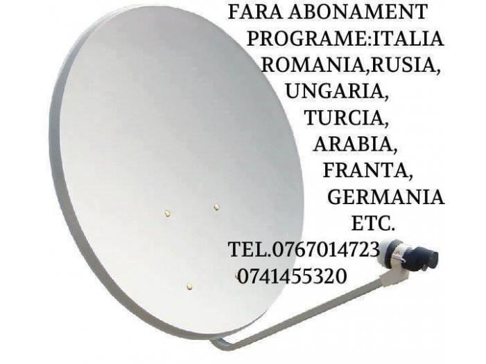 Antene satelit fara abonament, 0767014723 - 1/4