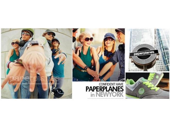 Vanzare distribuitor unic incaltaminte Paperplanes NewYork incaltaminte - 1/3
