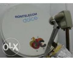 Asistenta si reglare antene satelit