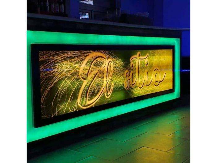 Tablouri, panouri publicitare Infinity 3D, amenajare localuri - 1/5