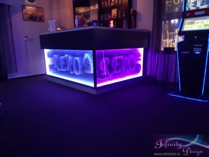 Tablouri, panouri publicitare Infinity 3D, amenajare localuri - 4/5