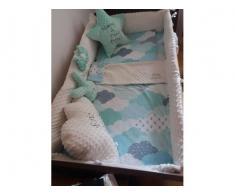 Realizam la comanda lenjerii pentru patuturi bebe si paturici personalizate