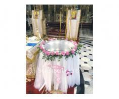 Decor cristelnita  la biserica