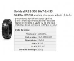 Cauciuc masiv stivuitor RES-330 18x7-8/4.33 Quick