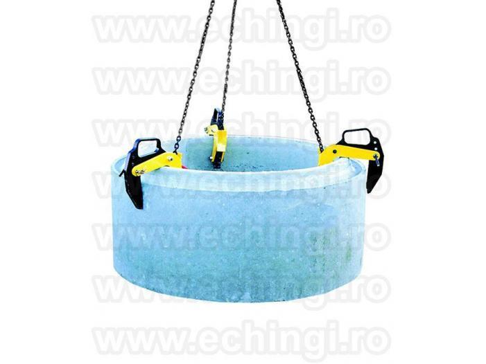 Clesti de ridicat, dispozitive de ridicare tuburi beton - 3/5