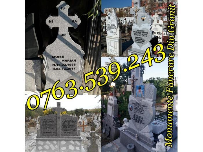 Monumente Funerare Cruci De Granit Marmura Ieftine - 1/5