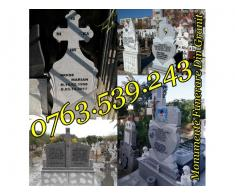 Monumente Funerare Cruci De Granit Marmura Ieftine - Poza 1/5