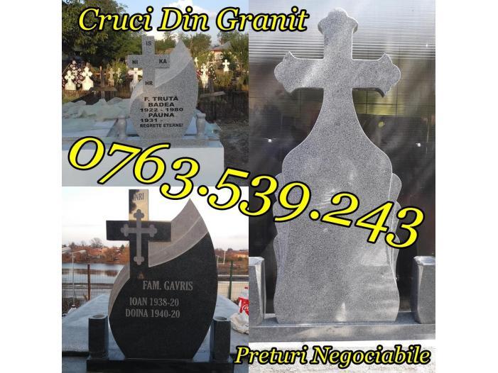 Monumente Funerare Cruci De Granit Marmura Ieftine - 2/5