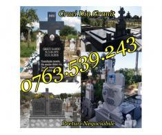 Monumente Funerare Cruci De Granit Marmura Ieftine - Poza 3/5