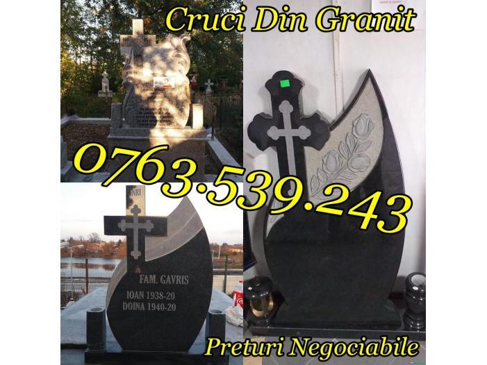 Monumente Funerare Cruci De Granit Marmura Ieftine - 4/5