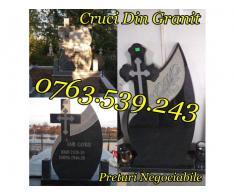 Monumente Funerare Cruci De Granit Marmura Ieftine - Poza 4/5