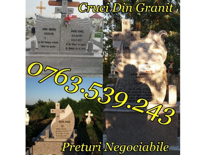 Monumente Funerare Cruci De Granit Marmura Ieftine - 5/5