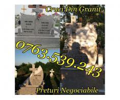 Monumente Funerare Cruci De Granit Marmura Ieftine - Poza 5/5