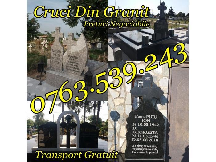 Executam Cruci De Granit Pietre Funerare Marmura Granit - 5/5
