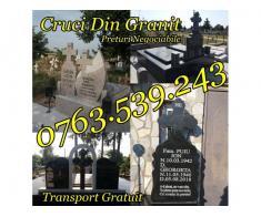 Executam Cruci De Granit Pietre Funerare Marmura Granit - Poza 5/5