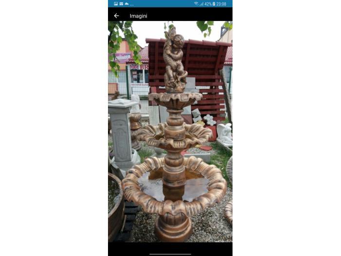 Fantana arteziana F6/Fantani arteziene/ornament gradina din beton/fant - 4/4