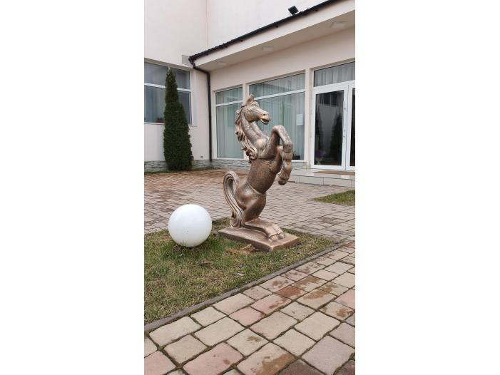 Cal din beton, ornament beton tip cal // ornament gradina - 1/3