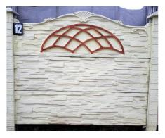 Gard din beton peste 30 de modele/gard beton/lacre gard/curte beton