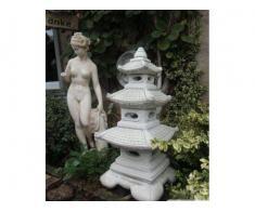 Lampa japoneza/felinar din beton/ ornament gradina