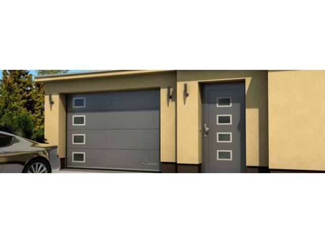 Producator usi de garaj sectionale-livrari in  tara - 2/3