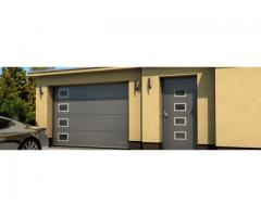 Producator usi de garaj sectionale-livrari in  tara