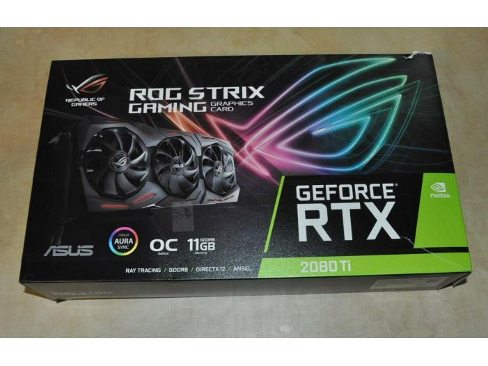 Vânzare ASUS ROG Strix GeForce RTX 2080 Ti OC - 1/3