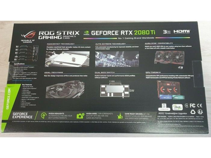 Vânzare ASUS ROG Strix GeForce RTX 2080 Ti OC - 2/3
