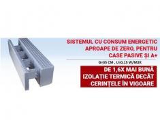Temocofraje pentru case cu eficienta energetica A+