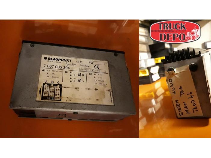 Sistem audio MAN TGA 460 XXL. An fabricatie 1999 - 1/1