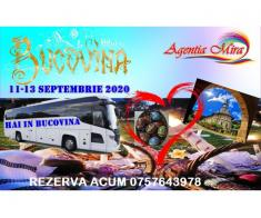 Bucovina 11-13 septembrie 2020 – un weekend minunat