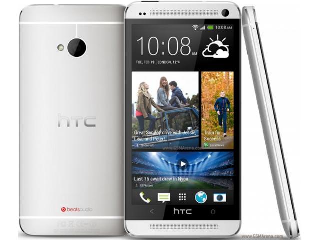 HTC One Dual Sim 802W Silver/ Gri sigilate!! - 1/2