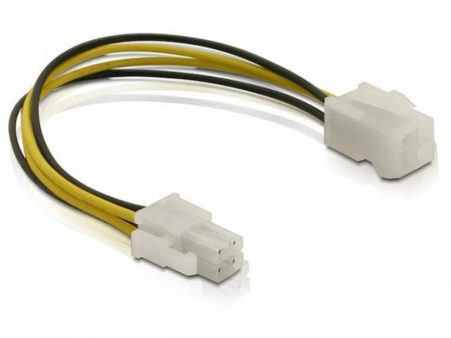 Cablu alimentare P4 tata/mama - 82428 - 1/1