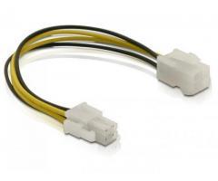 Cablu alimentare P4 tata/mama - 82428