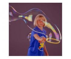 Inel pentru baloane uriase de sapun si 250ml solutie Pustefix jucarie baloane sapun