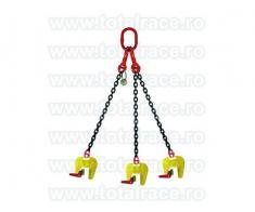 Clesti pentru tuburi beton Cleste ridicare verticala tuburi