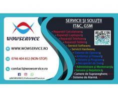 Servicii si Solutii IT & C & GSM in Galati - WOWSERVICE