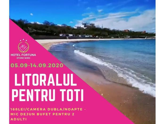 Hotel Fortuna 3 stele Eforie Nord – Oferte Last Minute & Litoralul pentru Toti - 1/1