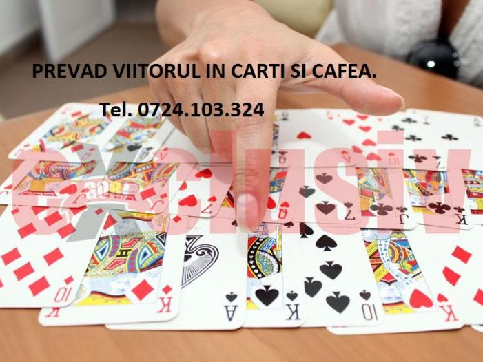 Prevad viitorul in carti normale si Tarot + cafea. - 1/1