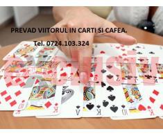 Prevad viitorul in carti normale si Tarot + cafea.